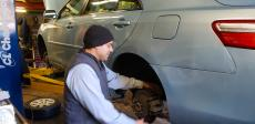 Certified mechanic at Old Orchard BP Auto Service & Repair in Skokie