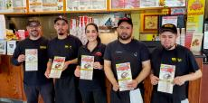 Friendly staff at Brandy's Gyros in Chicago
