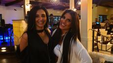 Lovely vocalists Evgenia & Christina at Brousko Authentic Greek Cuisine in Schaumburg