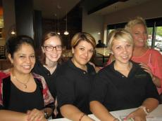 Friendly staff at Butterfield's Pancake House in Oakbrook Terrace