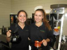 Friendly servers at Butterfield's Pancake House in Oakbrook Terrace
