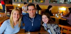 Family enjoying lunch at Butterfield's Pancake House & Restaurant in Naperville