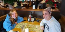 Friends enjoying breakfast at Butterfield's Pancake House & Restaurant in Oakbrook Terrace