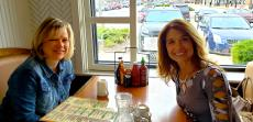 Friends enjoying lunch at Butterfield's Pancake House & Restaurant in Wheaton