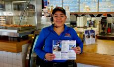 Friendly staff at Charcoal Delights Restaurant in Des Plaines