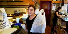 Friendly staff at Charcoal Flame Grill in Morton Grove