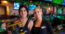 Friendly servers at Chaser's Sports Bar & Grill in Schiller Park