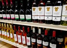 Assortment of Greek Wine at Columbus Food Market & Gifts in Des Plaines