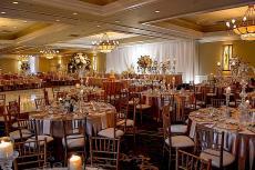 Beautiful ballroom at Concorde Banquets in Kildeer