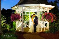 Happy newlyweds at Concorde Banquets in Kildeer