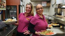 Friendly servers at Continental Restaurant & Banquets in Buffalo Grove