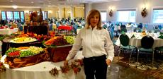 Thanksgiving Buffet staff at D'Andrea Banquets & Conference Center Crystal Lake