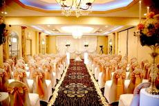 The Ceremony Room at D'Andrea Banquets & Conference Center in Crystal Lake