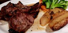 Grilled Lamb Chops at Demetri's Greek Restaurant in Deerfield