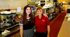 Friendly staff at Dino's Cafe in Bloomingdale