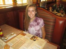 Loyal customer at Downers Delight Pancake House & Restaurant in Downers Grove
