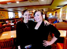 Friendly servers at Downers Delight Pancake House & Restaurant Downers Grove
