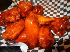 Spicy hot wings at Draft Picks Sports Bar in Naperville