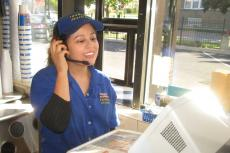 Fast and friendly drive-thru service at Charcoal Delights in Chicago
