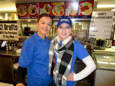 Friendly staff at Goodi's Restaurant in Niles