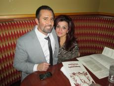 Couple enjoying dinner at Jameson's Charhouse in Arlington Heights