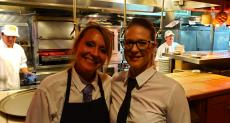 Friendly servers at Jameson's Charhouse in Arlington Heights