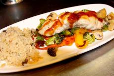 Delicious Pan Fried Grouper at Jimmy's Charhouse in Libertyville