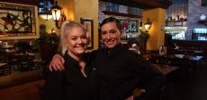 Friendly staff at Jimmy's Charhouse in Elgin