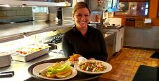 Friendly server at Johnny's Kitchen & Tap in Glenview