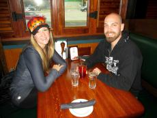 Friends enjoying lunch at Johnny's Kitchen & Tap in Glenview