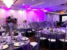 Beautifully designed ballroom at Mirage Restaurant & Banquets in Schiller Park
