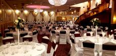 Beautifully designed ballroom at Niko's Banquets & Grill in Bridgeview