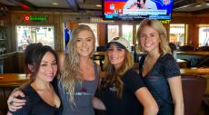 Friendly servers at Niko's Red Mill Tavern in Woodstock
