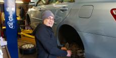 Certified mechanic at Old Orchard BP Auto Service & Repair in Skokie