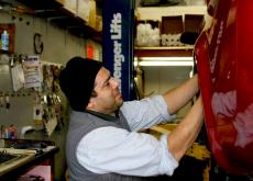 Another (Audi) quality brake job at Old Orchard BP Skokie Auto Service & Repair
