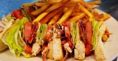 The famous BLT Sandwich at Parkwest Pancake House in Villa Park