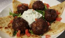 Greek Style Meatballs at Plateia Mediterranean Kitchen & Bar in Des Plaines