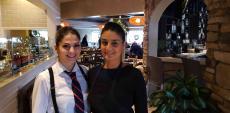 Friendly staff at Plateia Mediterranean Kitchen & Bar in Des Plaines