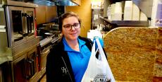Friendly carry-out staff at QP Greek Food With A Kick in Hoffman Estates