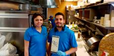 Friendly staff at QP Greek Food With A Kick in Hoffman Estates