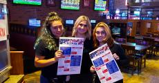 Friendly staff at Rookies All American Pub & Grill in Huntley