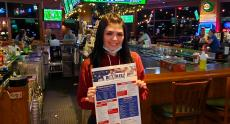 Friendly server at Rookie's All American Pub & Grill in Huntley