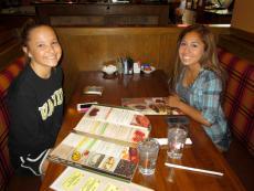 Friends enjoying lunch at Savoury Restaurant & Pancake Cafe in Bartlett
