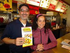 Friendly staff at Stav's Kitchen in Addison