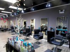 Spacious interior at Studio Styl Salon in Palatine