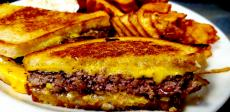 The famous Patty Melt at Tasty Waffle Restaurant in Romeoville