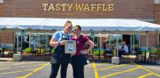 Happy Father's Day from Tasty Waffle Restaurant in Romeoville