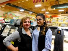 Friendly staff at Village Market Place in Skokie