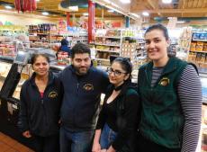 Friendly staff at Village Market Place in Skokie